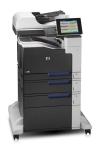 МФУ А3 цв. HP Color LJ M775f (принтер, копир, сканер, факс), скорость: ч/б-30 стр/мин, цв-30 стр/мин, Дуплекс: да, Лотки: подачи-1350 л., приёма-250 л., Плотность: 60-220 г/м2, ручная подача до 220 г/м2, ADF: 100 л. стандартно ,Нагрузка: до 120 000 стр/ме